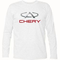 Футболка с длинным рукавом Chery Logo - FatLine