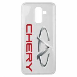 Чехол для Samsung J8 2018 Chery Logo - FatLine
