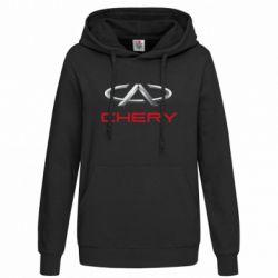 Женская толстовка Chery Logo - FatLine