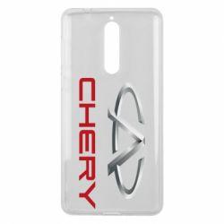 Чехол для Nokia 8 Chery Logo - FatLine