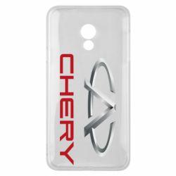 Чехол для Meizu 15 Lite Chery Logo - FatLine