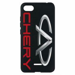 Чехол для Xiaomi Redmi 6A Chery Logo - FatLine