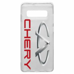 Чехол для Samsung S10+ Chery Logo