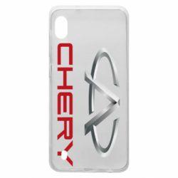 Чехол для Samsung A10 Chery Logo