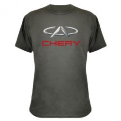 Камуфляжная футболка Chery Logo - FatLine