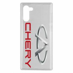 Чехол для Samsung Note 10 Chery Logo
