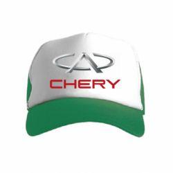 Детская кепка-тракер Chery Logo