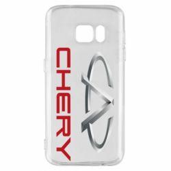 Чехол для Samsung S7 Chery Logo