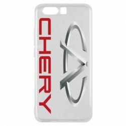 Чехол для Huawei P10 Chery Logo - FatLine