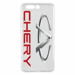 Чехол для Huawei P10 Plus Chery Logo - FatLine