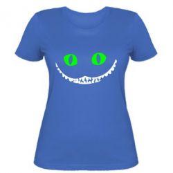 Женская футболка чеширский кот - FatLine