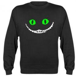 Реглан (свитшот) чеширский кот - FatLine