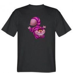 Мужская футболка Чеширский кот - FatLine