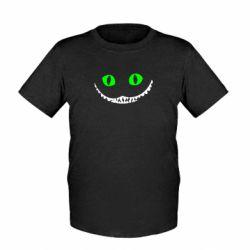Детская футболка чеширский кот - FatLine
