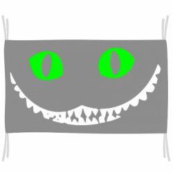 Флаг чеширский кот