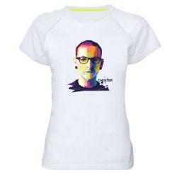 Жіноча спортивна футболка Chester Art