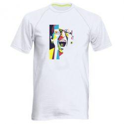 Мужская спортивная футболка Chester Bennington Art
