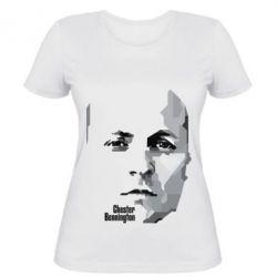 Женская футболка Честер Беннингтон