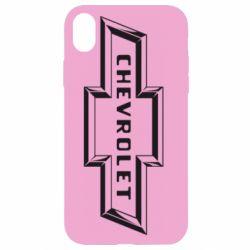 Чохол для iPhone XR Chevrolet 3D