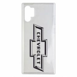 Чохол для Samsung Note 10 Plus Chevrolet 3D