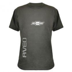 Камуфляжная футболка Chevrolet Aveo - FatLine
