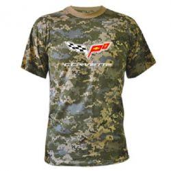 Камуфляжная футболка Chevrolet Corvette - FatLine