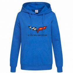 Женская толстовка Chevrolet Corvette - FatLine