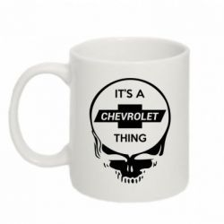 Кружка 320ml Chevrolet It's a thing - FatLine