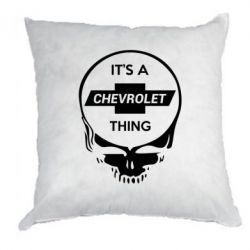 Подушка Chevrolet It's a thing - FatLine