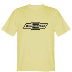 Мужская футболка Chevrolet Log - FatLine