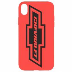 Чохол для iPhone XR Chevrolet Log
