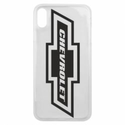 Чохол для iPhone Xs Max Chevrolet Log