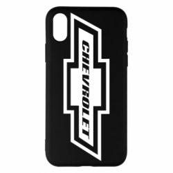 Чохол для iPhone X/Xs Chevrolet Log
