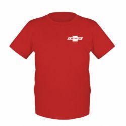Детская футболка Chevrolet Logo Small - FatLine