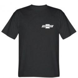 Мужская футболка Chevrolet Logo Small - FatLine