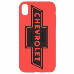 Чохол для iPhone XR Chevrolet Logo Small