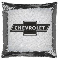 Подушка-хамелеон Chevrolet Logo Small