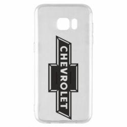 Чохол для Samsung S7 EDGE Chevrolet Logo Small