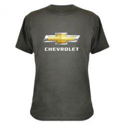 Камуфляжная футболка Chevrolet Logo - FatLine