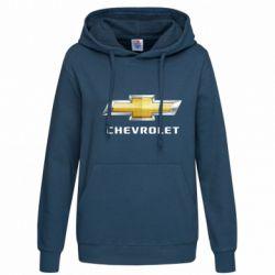 Женская толстовка Chevrolet Logo