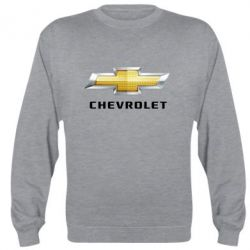 Реглан (свитшот) Chevrolet Logo - FatLine