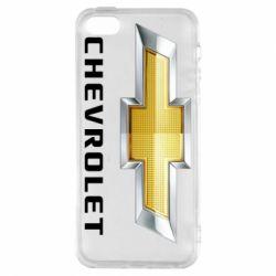 Купить Чехол для iPhone5/5S/SE Chevrolet Logo, FatLine