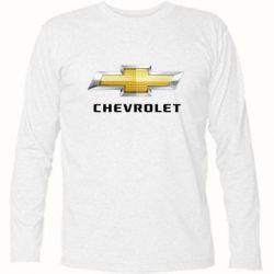Футболка с длинным рукавом Chevrolet Logo