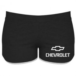Женские шорты Chevrolet Small - FatLine