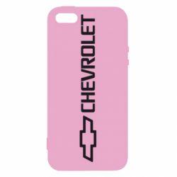 Чехол для iPhone5/5S/SE Chevrolet  Vert