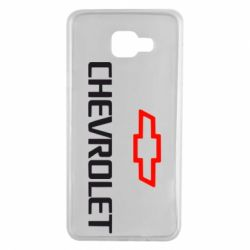 Чехол для Samsung A7 2016 CHEVROLET