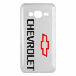 Чехол для Samsung J3 2016 CHEVROLET