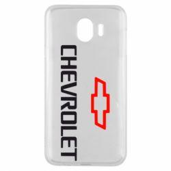 Чехол для Samsung J4 CHEVROLET