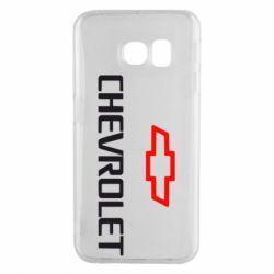 Чехол для Samsung S6 EDGE CHEVROLET