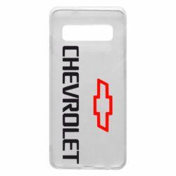 Чехол для Samsung S10 CHEVROLET